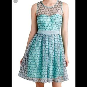 Anthropology Chasia Dress Size 4